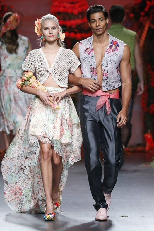 camilo miralles presente en la london fashion week
